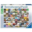 Puzzle 1500 piezas 99 bicicletas - 26916007