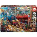 """Puzzle 500 estación de tren """"enigmatic puzzle"""" - 04018481"""