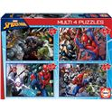 Puzzle multi 4 puzzles spider-man fsc - 04018102