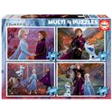 Puzzle multi 4 frozen 2 50+80+100+150 - 04018640