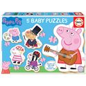 Puzzle baby peppa pig 2 - 04018589
