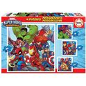 Puzzle progressive super heroe advent - 04018647
