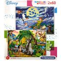Puzzle 2x60 peter pan + jungle book - 06621613