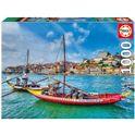 Puzzle 1000 barcos oporto - 04017196