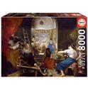 Puzzle 8000 las hilanderas, velázquez - 04018584