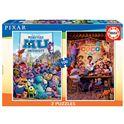 Puzzle 2x100 coco+monsters university - 04018635