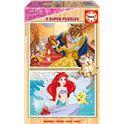 Puzzle 2x25 princesas disney - 04017164