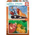 Puzzle 2x48 the lion king - 04018629