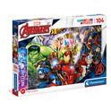 Puzzle 104 marvel brillant - 06620181