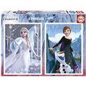 Puzzle 2x500 frozen - 04019016
