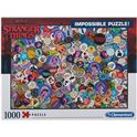 Puzzle 1000 impossible stranger things - 06639528