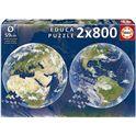 Puzzle 2x800 planeta tierra - 04019039
