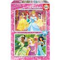 Puzzle 2x48 disney princess - 04016851