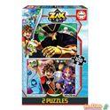 Puzzle 2x100 zak storm - 04017735