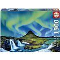 Puzzle 1500 aurora boreal islandia - 04019041