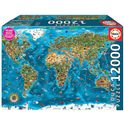 Puzzle 12000 maravillas del mundo - 04019057